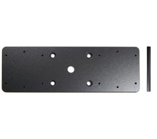 Brodit dubbele montageplaat (143x50x5mm)