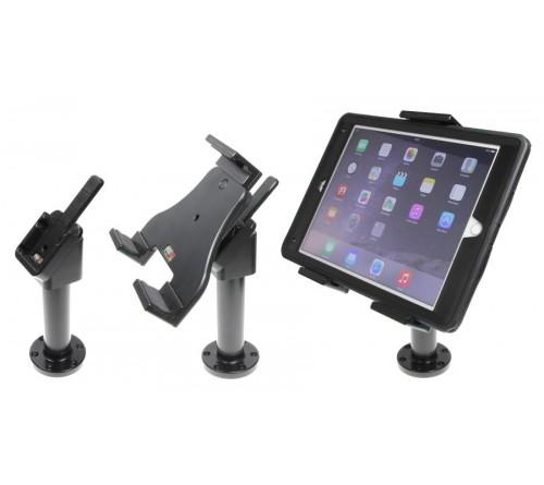 Brodit adjustable tablet holder 140-195mm. on pedestal mount