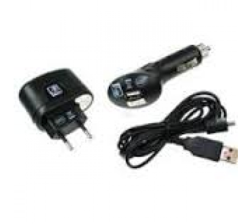 3 in 1 Power Set 12v/220v USB --> micro USB