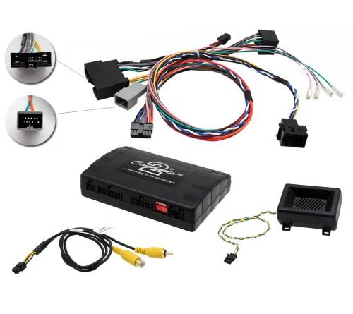 Infoadapter met stuurbediening Landrover Evoque 2014-