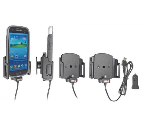 Brodit h/l micro-usb verstelb. b.62-77/d12-16 mm USB sig.