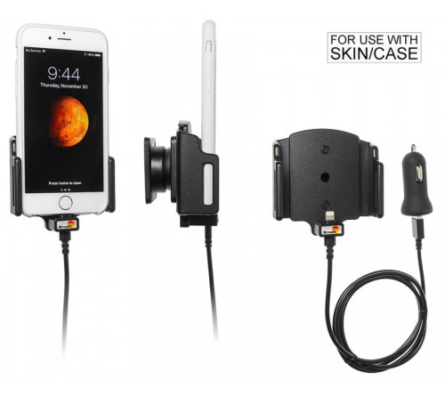 Brodit h/l verstelb(62-77/2-10mm) Apple iPh.7/8/X/Xs USB sig