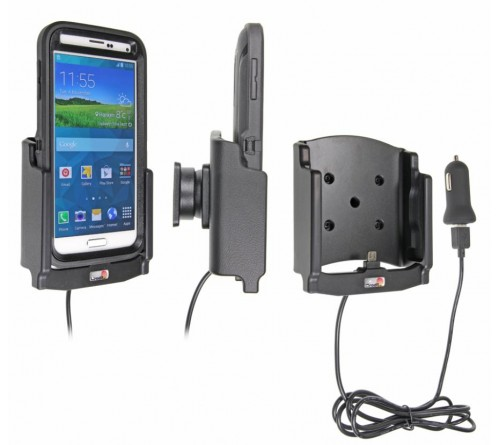 Brodit h/l Samsung Galaxy S5 USB sig.plug - Otterbox Def.