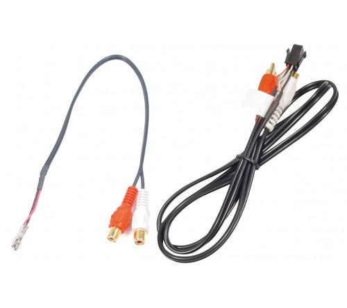 Aux kabel Mitsubishi (3 losse insteek pinnen)