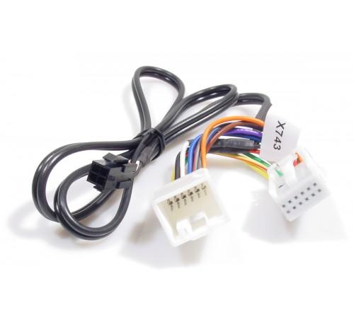 Aux kabel Peugeot / Citroen Aux input 1