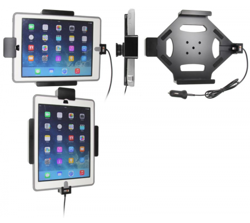 Brodit h/l Apple iPad Air/9.7 USB sig. (veerweerstand)-Otter