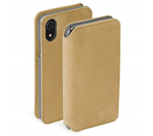 Krusell Broby 4 Card SlimWallet Apple iPhone XR - Cognac