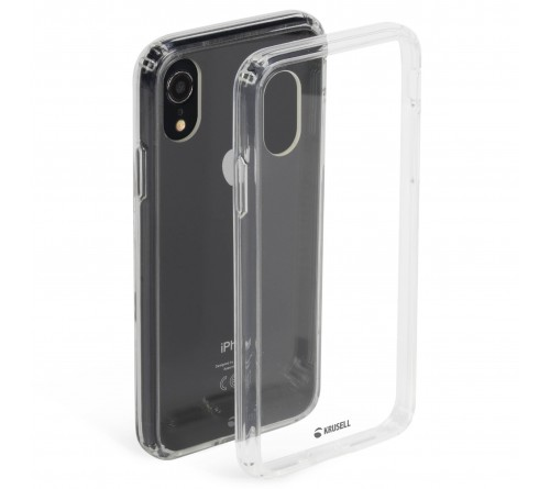 Krusell Kivik Cover Apple iPhone XR - Transparent