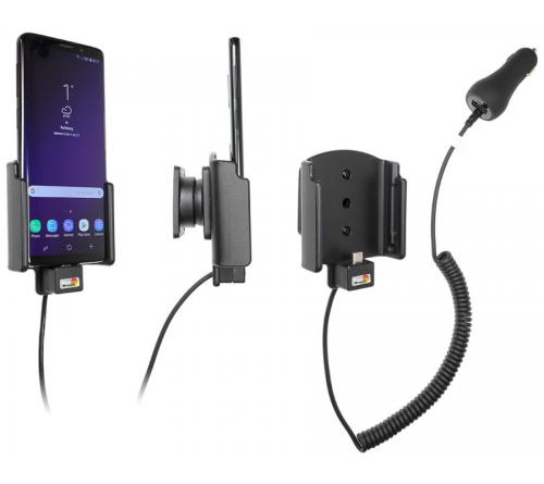 Brodit houder/lader Samsung Galaxy S9 sig.plug