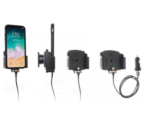 Brodit h/l verstelb(70-83/2-10mm) Apple iPh.X /Xs/XR USB sig