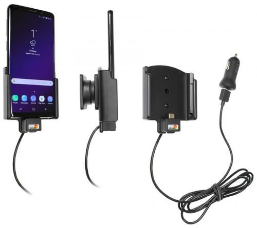 Brodit houder/lader Samsung Galaxy S9 USB sig.plug