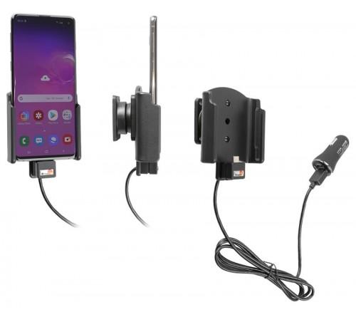 Brodit houder/lader Samsung Galaxy S10 USB sig.plug