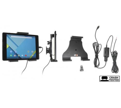Brodit h/l Tablet verstelb.140-195mm USB-C fixed instal.