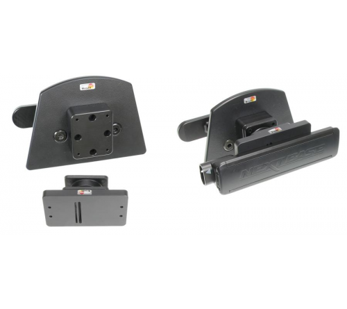Brodit Headrest mount set Volvo V90 19-/Nextbase Duo Cinema