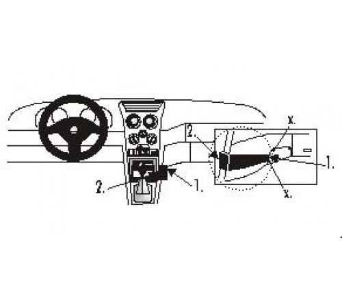 Proclip Alfa Romeo 145 94-97/ 146 98-00 Angled mount