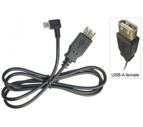 Adapterkabel Micro usb --> USB (f) voor Intermec CN50
