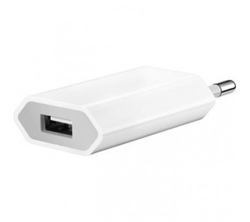 Apple MD813 ZM/A  (A1400) org travel charger 220V - USB bulk