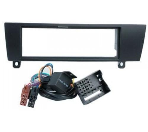 1-DIN frame  BMW 1 (E87)04 >/BMW 3 (E90)05> + ISO-kabel