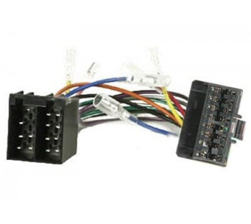 Kabelboom voor OEM radio  PIONEER 16-pin > ISO 16-pin vrouw.