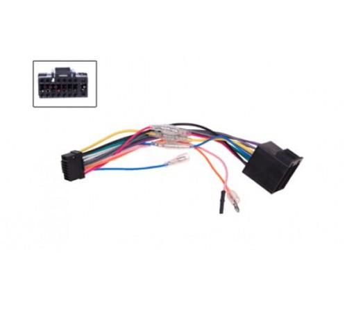 Kabelboom  OEM radio  OEM adapter ALPINE 16-pin > ISO 16-pin