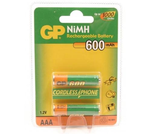 GP 65AAAHC 650mAh oplaadbaar