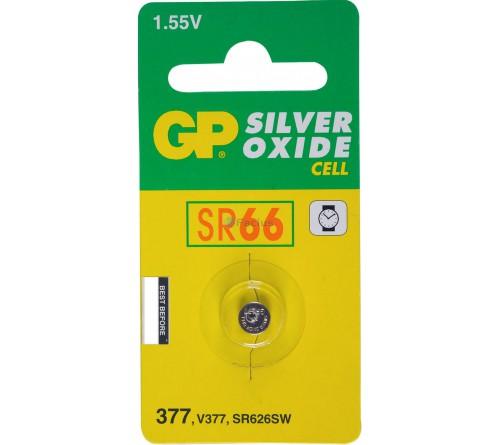GP Horlogebatterij 377 (SR626SW) Low drain  blister 1