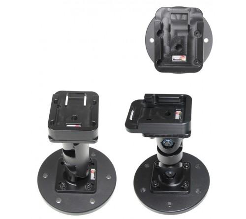Pedestal Mount & MoveClip L:124mm Black