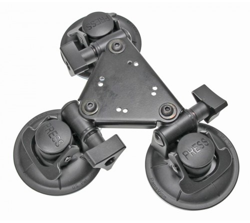 Brodit Triple Suction Cup Mount