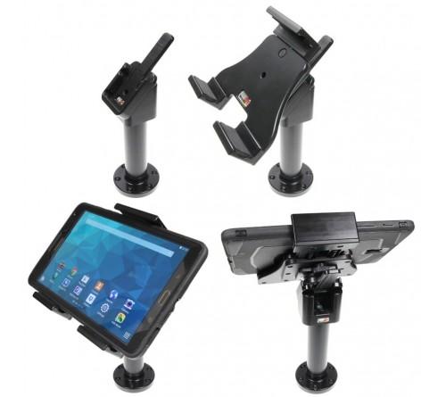 Brodit adjustable tablet holder 120-150mm. on pedestal mount