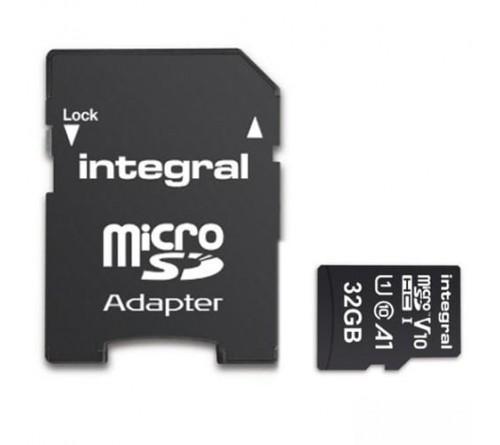 Integral 32GB V10 High Speed microSDHC Card-class 10