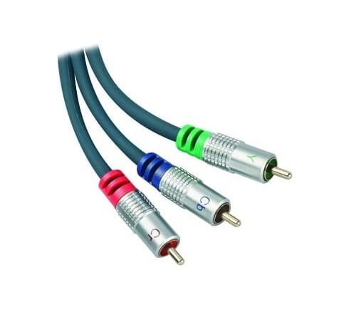 m-use 3 x RCA (f) -  3 x RCA (f) High Quality -  1 5 meter