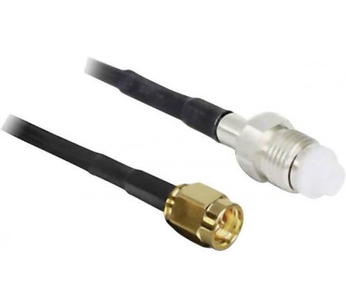 adapterkabel 100 cm SMA M -  FME F LMR195