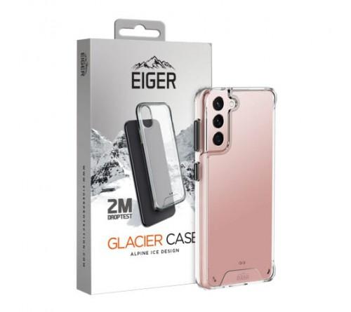 Eiger Glacier case Samsung Galaxy S21 Plus - transparant