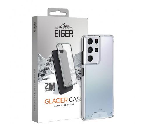 Eiger Glacier case Samsung Galaxy S21 Ultra - transparant