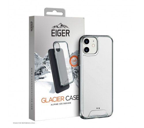 Eiger Glacier case Apple iPhone 12/12 Pro - transparant