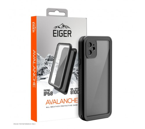 Eiger Avalanche case Apple iPhone 12 - black