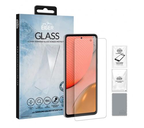 Eiger GLASS Screen Protector Samsung Galaxy A72- clear
