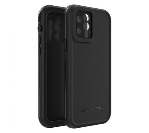 LifeProof Fre Case Apple iPhone 12 - Zwart