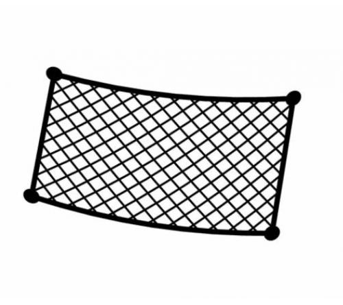 Bagagenet 30x18cm 'NR9'