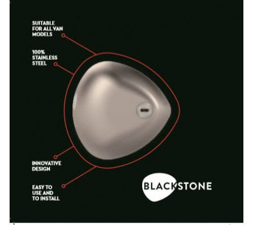 Blackstone Silver Combo veiligheidsslot  3 stuks  6 sleutels
