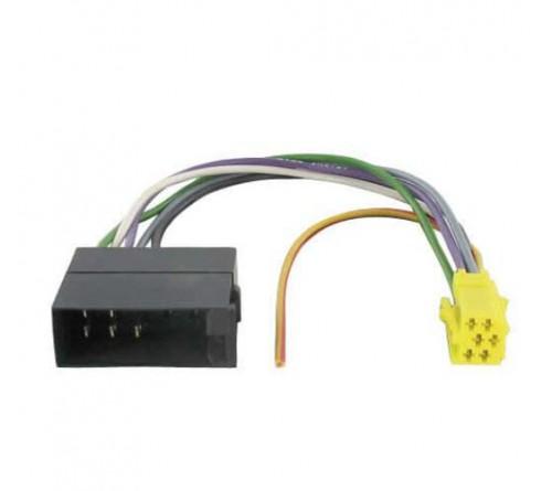 Radio aansluitkabel speaker adapter 10 pin iso-> mini iso