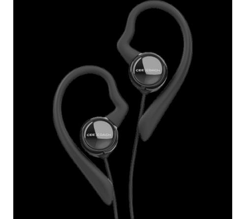 CEECOACH stereo headset met oorbeugel