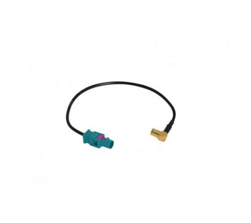 adapterkabel 10 cm Fakra M - SMB F 90°