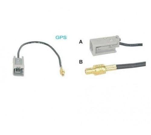 adapterkabel 10 cm GT-5 M - SMB M Volvo V70/XC90/F-Reeks