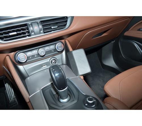 Kuda console Alfa Romeo Stelvio 01/2017- Zwart