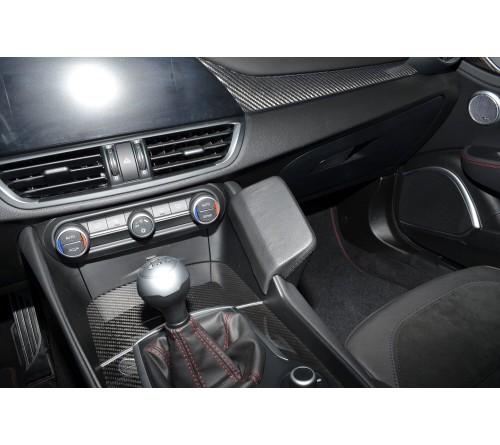 Kuda console Alfa Romeo Giulia 05/2016- Zwart