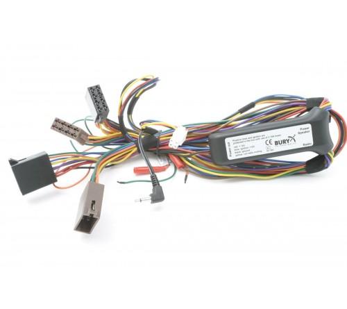 Bury acc.v. AC5120 externe switchbox met ISO stekkers