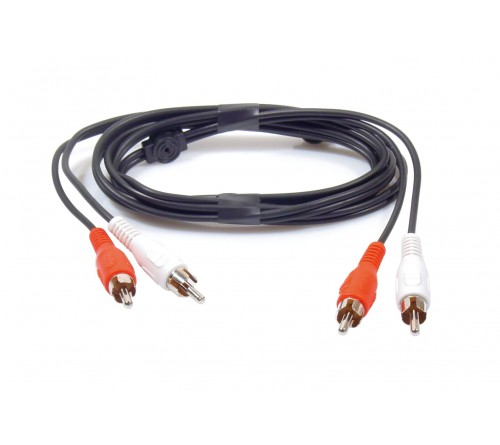 Aux adapter 2 x RCA cable Male-Male 1 5 meter