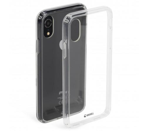 Krusell Kivik Cover Apple iPhone XR - Transparent