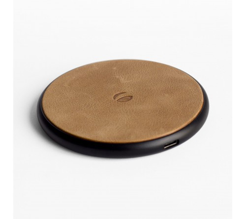 Krusell Sunne Wireless Charger Universal- Vintage Nude Qi